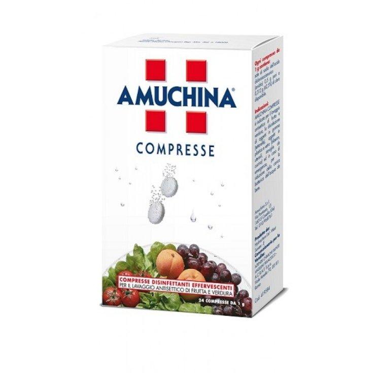 Amuchina Angelini 24 Effervescent Disinfectant Tablets