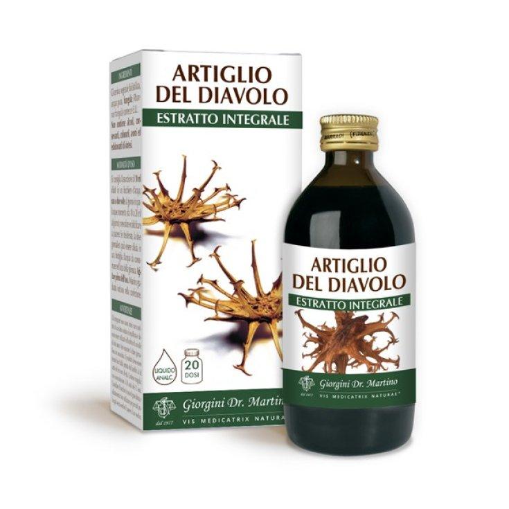 Devil's Claw Integral Extract Dr. Giorgini 200ml