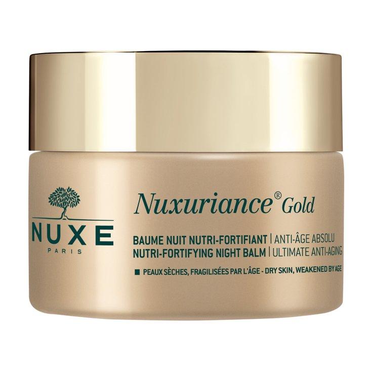 Nourishing Fortifying Night Balm Nuxuriance Gold NUXE 50ml