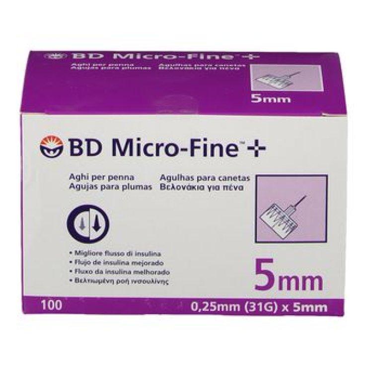 Micro-Fine ™ + 5mm Bd 100 Pieces