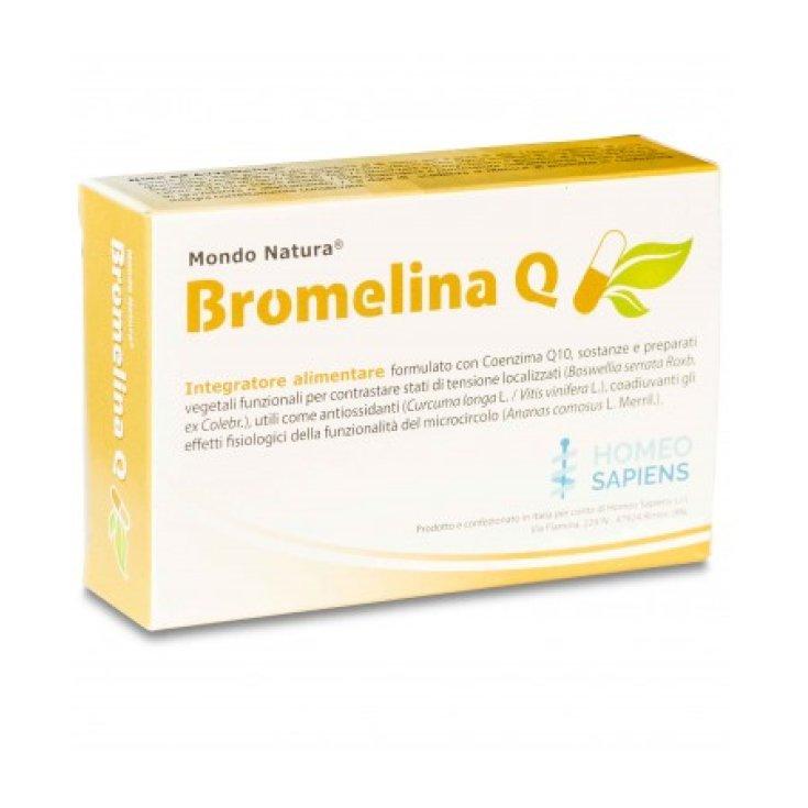 Bromelain Q Homeo Sapiens 30 Tablets