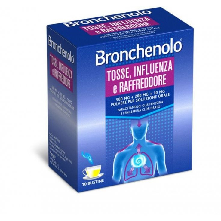 Bronchenolo® Cough, Flu and Cold 10 Sachets