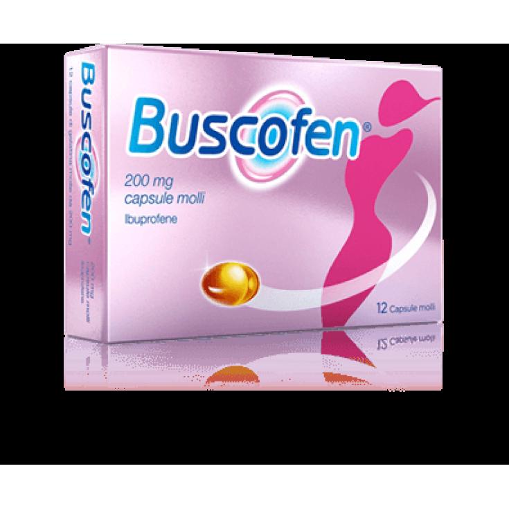 Buscofen® Sanofi 12 Soft Capsules 200mg