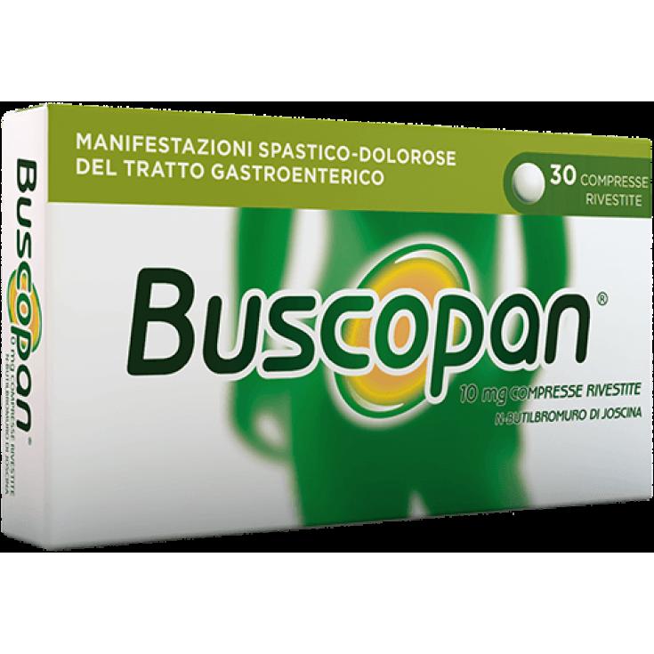 Buscopan® Sanofi 30 Tablets