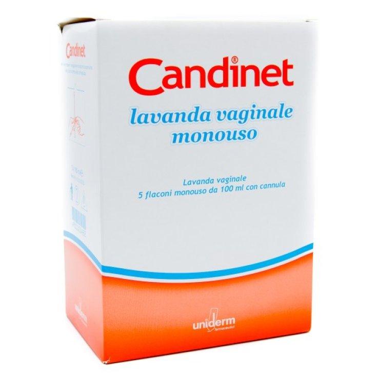 Candinet Vaginal Lavender Disposable UNIDERM 5 Falcons of 100ml