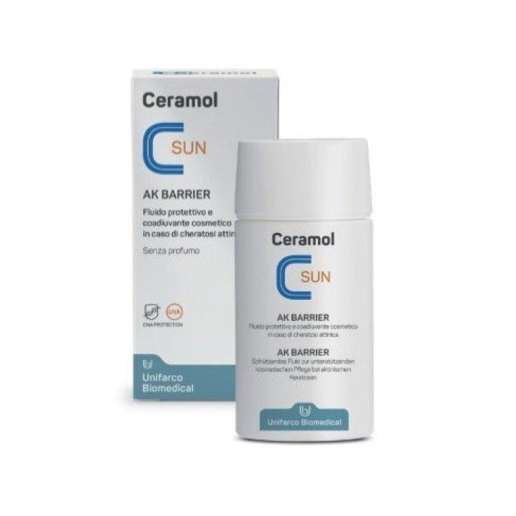 Ceramol SUN AK Barrier Unifarco Biomedical 50ml