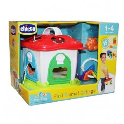 Animal Cottage 2 In 1 BEAN 1-4 Years