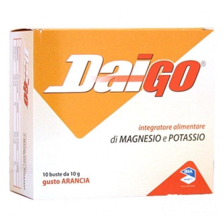 DaiGo IBSA 10 Orange Bags