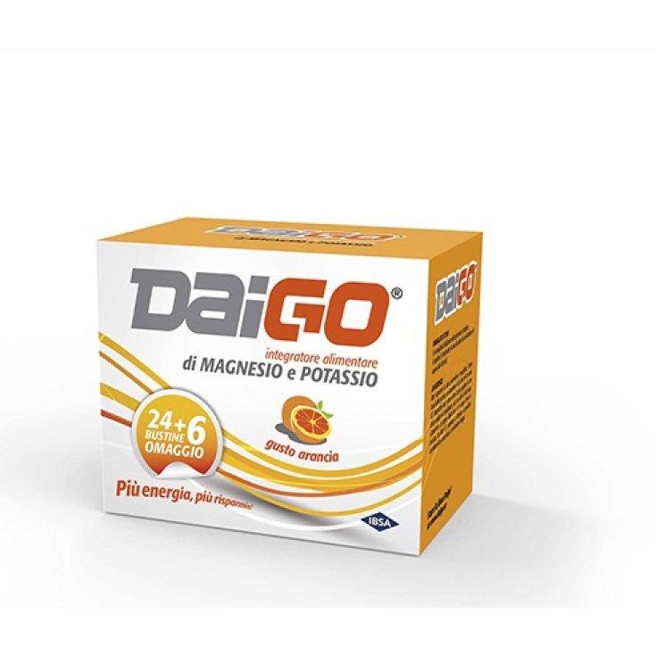 DaiGo IBSA 24 Sachets + 6 Orange Tribute