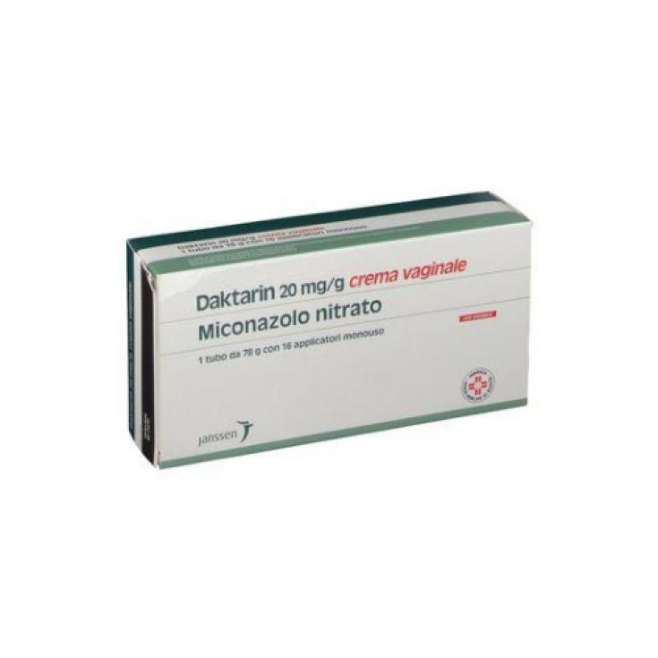 Janssen Daktarin 2% Vaginal Cream JANSSEN-CILAG Cream 78g + 16 Applicators
