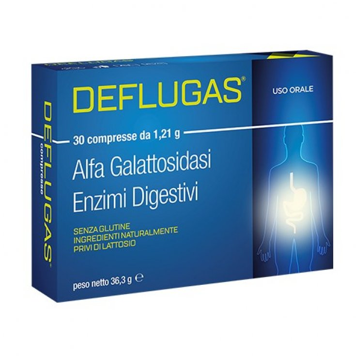 Deflugas Food Supplement 30 Chewable Tablets