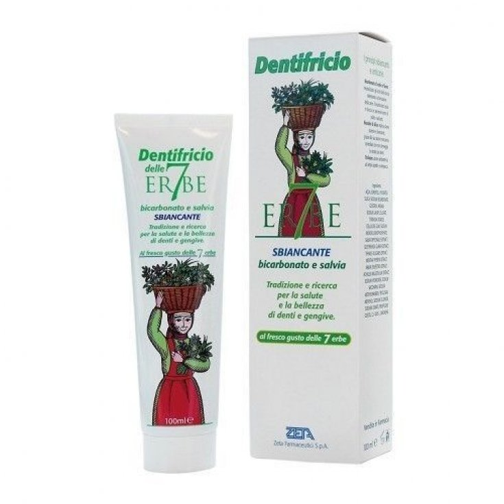 Zeta Pharmaceutical 7 Herbs Toothpaste 100ml