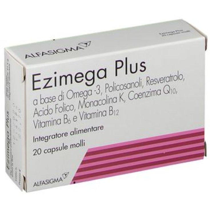 Ezimega Plus Alfasigma 20 Soft Capsules