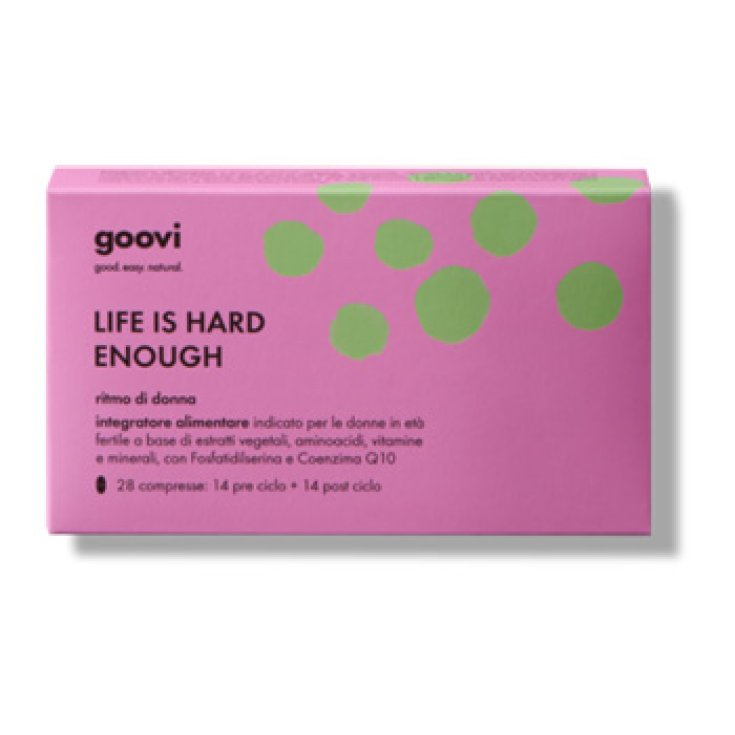 Goovi Life Is Hard Enough Rhythm Of Women Pre And Post Cycle Food Supplement 28 Tablets
