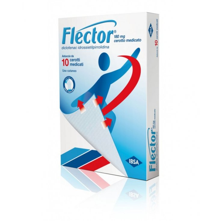 Flector 180mg IBSA 10 Medicated Patches