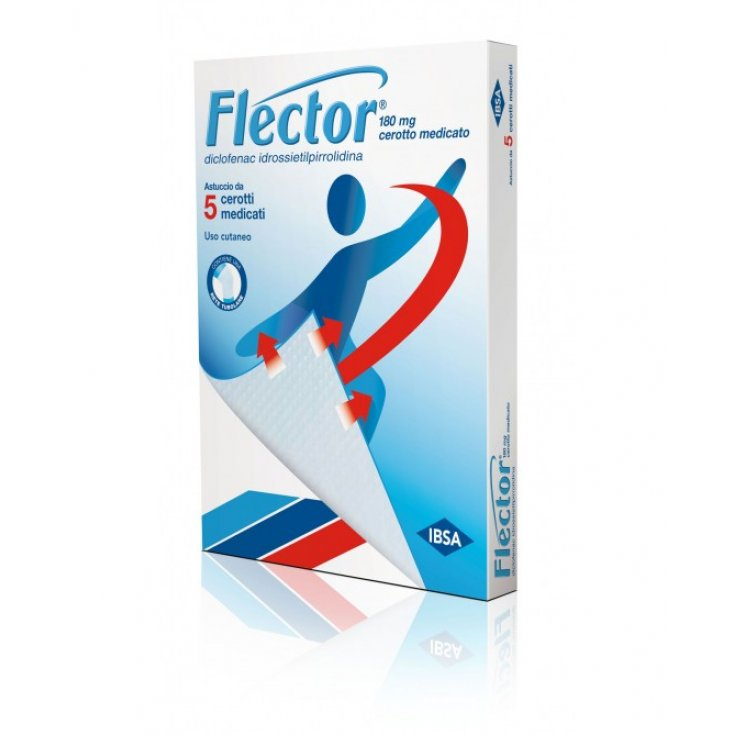 Flector 180mg IBSA 5 Medicated Patches