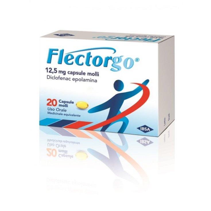 Flectorgo 12,5mg IBSA 20 Soft Capsules