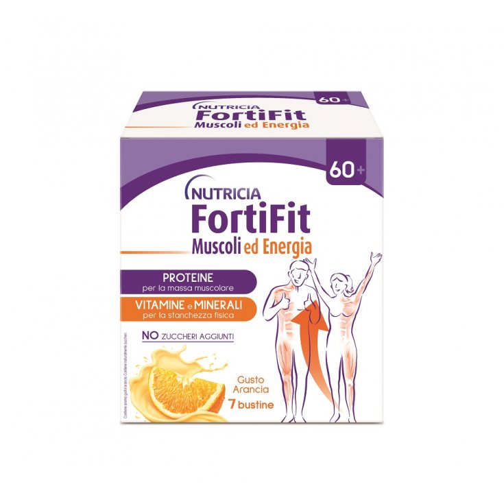 Fortifit Muscles And Energy Nutricia 7 Sachets