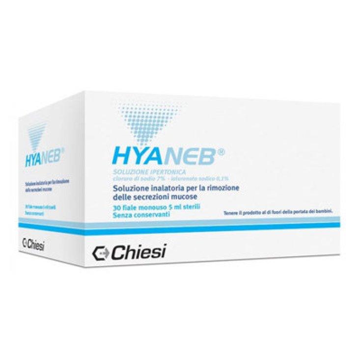 Hyaneb® Chiesi Hypertonic Solution 30 Vials of 5ml