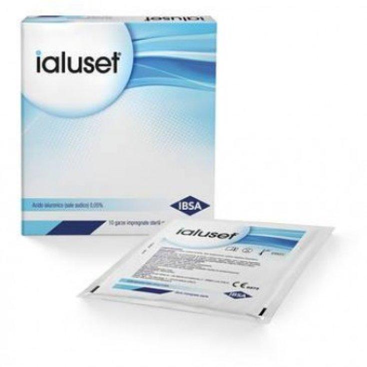 Ialuset IBSA 10 Medicated Gauze 10x10cm