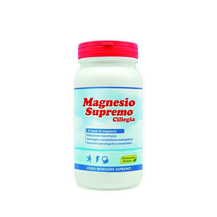Supreme Cherry Magnesium Supremo Natural Point Wellness Line 150g