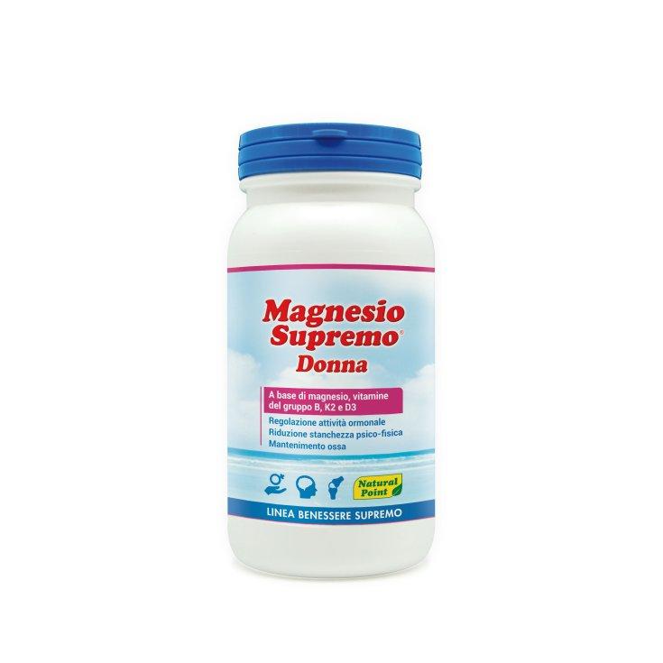 Supreme Magnesium Woman Supremo Natural Point Wellness Line 150 g