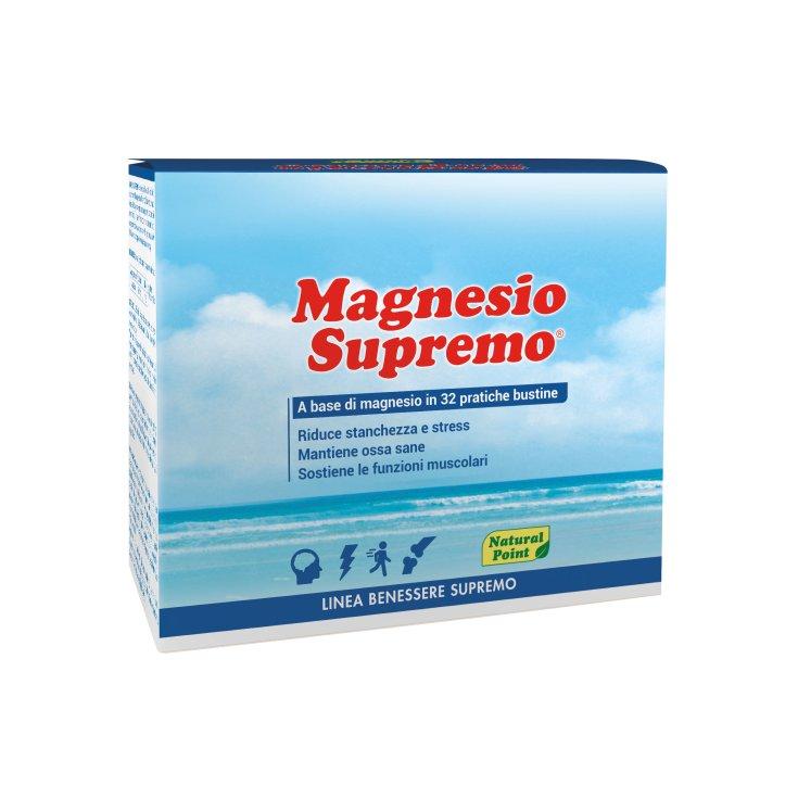 Supreme Magnesium Supremo Natural Point Wellness Line 32 Sachets