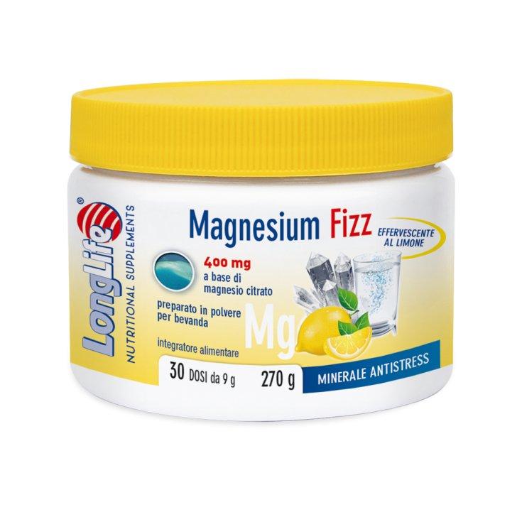 Magnesium Fizz 400mg LongLife 270g