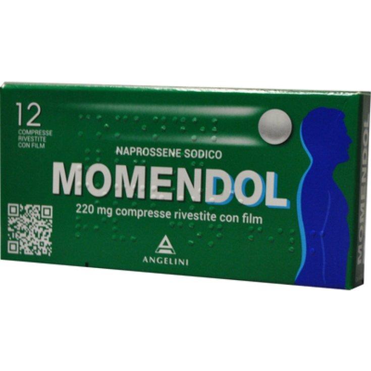 Momendol 220mg Angelini 12 Tablets