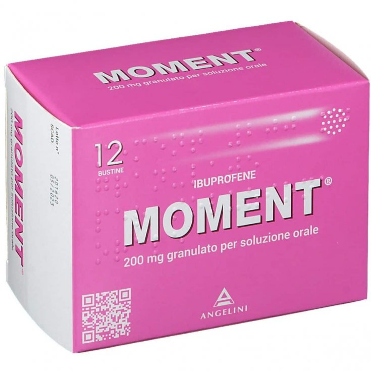 Moment 200mg Angelini12 Sachets