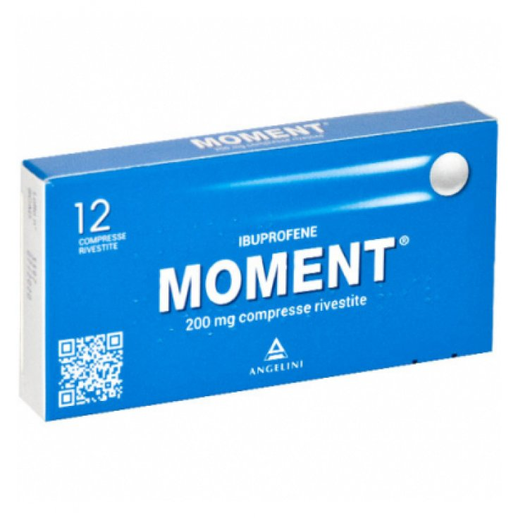 Moment 200mg Angelini 12 Coated Tablets