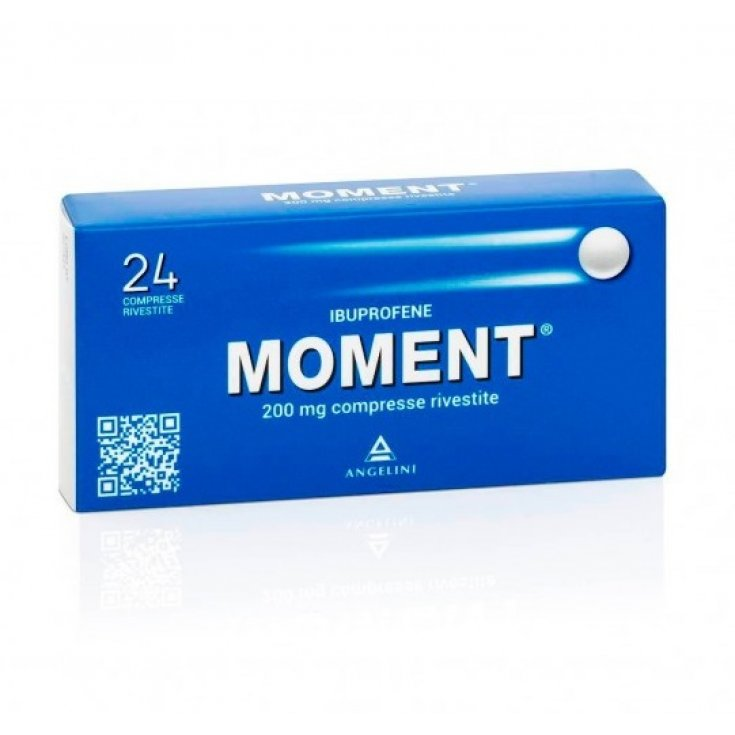 Moment 200mg Angelini 24 Coated Tablets