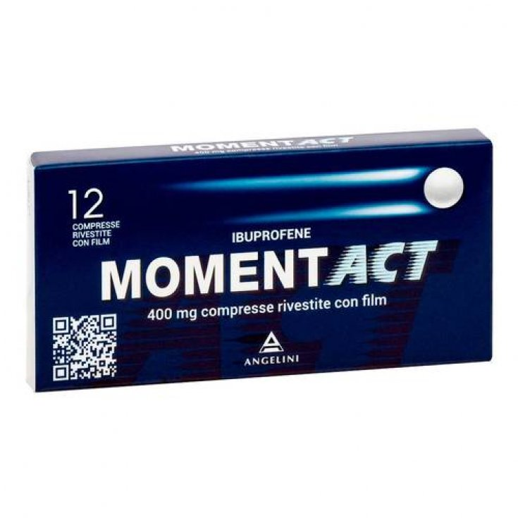 Moment ACT 400mg 12 Coated Tablets