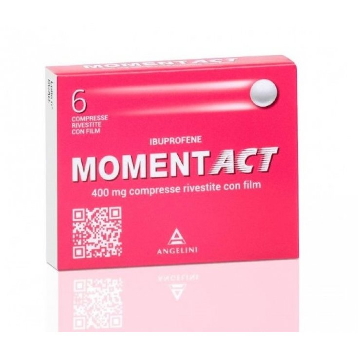 Moment ACT 400mg Angelini 6 Compresse