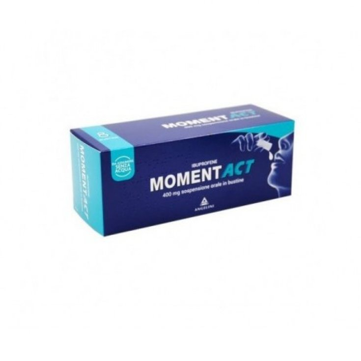 MomentAct 400mg Angelini Oral Suspension 8 Sachets