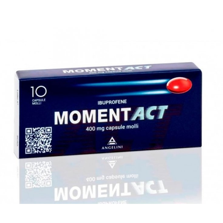 Moment ACT 400mg Angelini 10 Soft Capsules