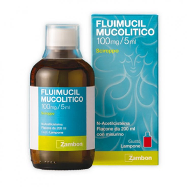 Fluimucil Mucolytic 600mg / 15ml  Syrup 200ml