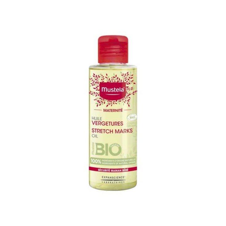 Mustela® Organic Stretch Mark Oil 105ml