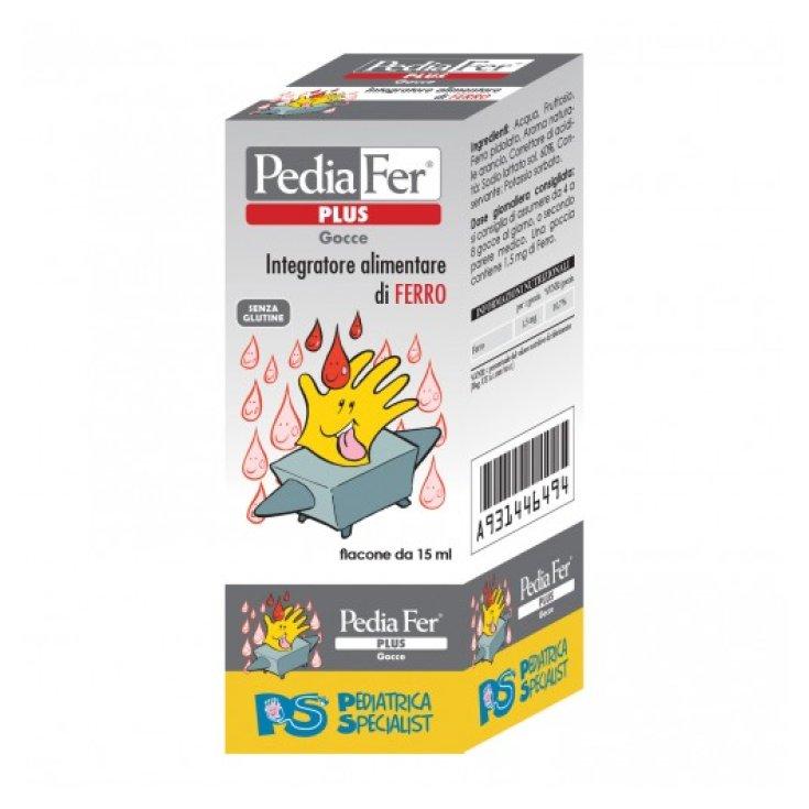 Pediafer Plus Drops Pediatric Specialist 15ml