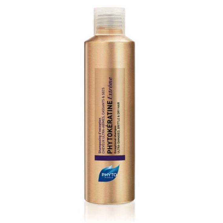 Phytokératine Extrême Exceptional Ultra-Damaged Shampoo, Brittle And Dry Hair 200ml