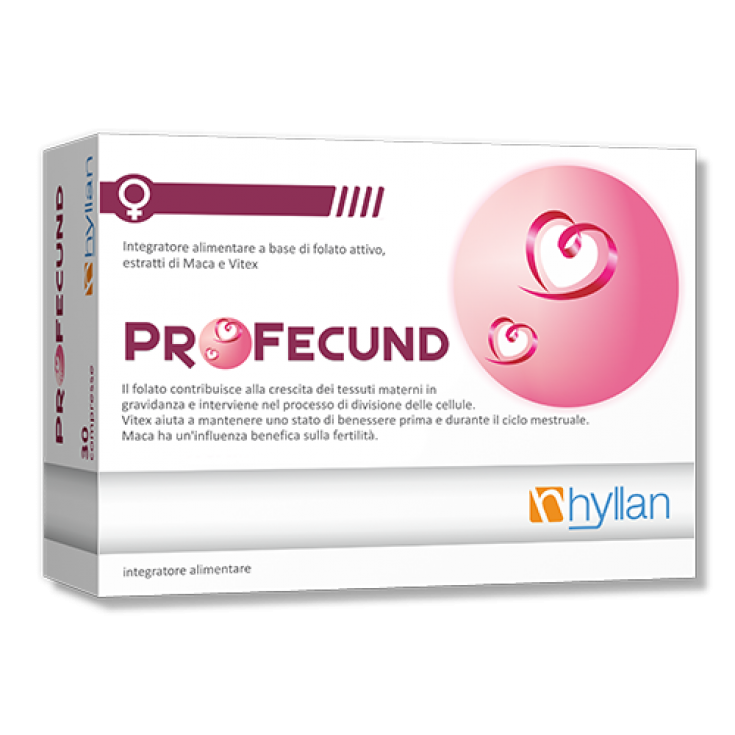 Profecund Hyllan Pharma 30 Tablets