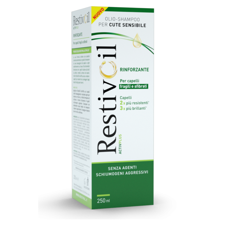 RestivOil Activ Plus Strengthening Shampoo 250ml