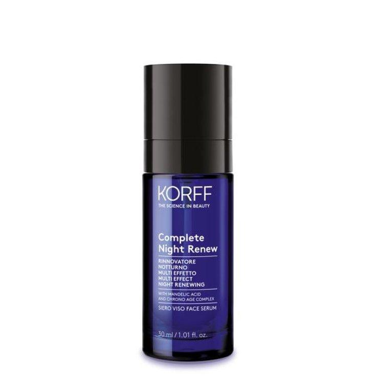 KORFF Complete Night Renew Face Serum 30ml