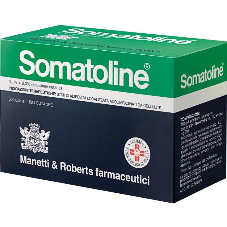 Somatoline 0.1% + 0.3% Skin Emulsion Manetti & Roberts Farmaceutici 30 Sachets
