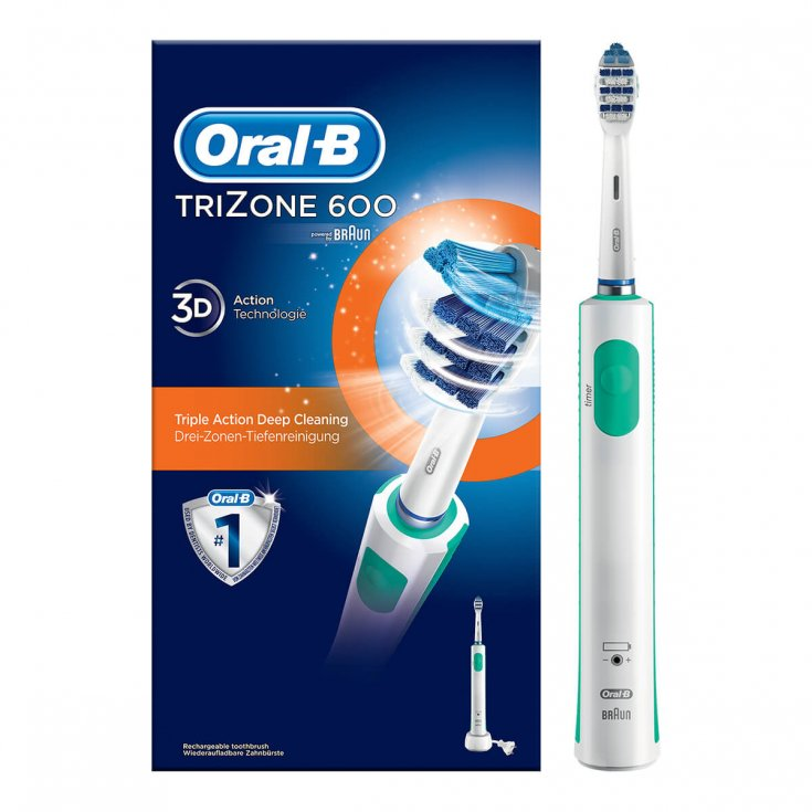 Braun PRO 600 TriZone Oral-B® Rechargeable Electric Toothbrush