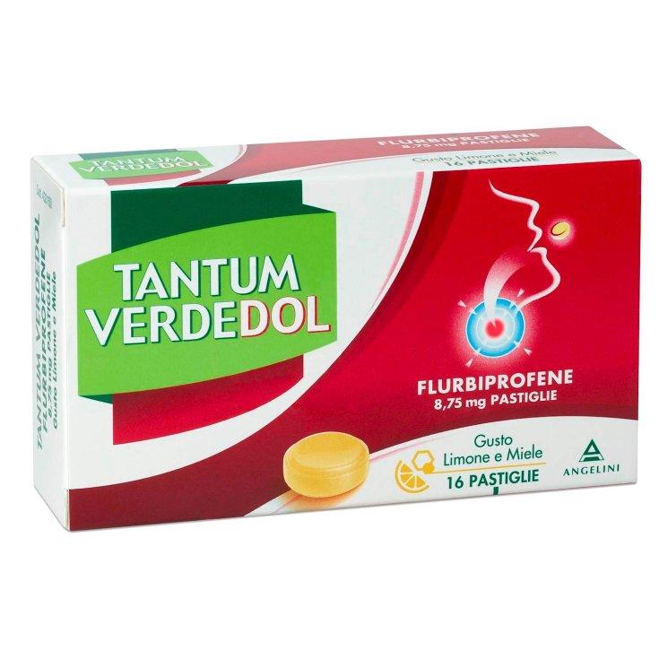 Tantum VerdeDOL Flurbiprofene 8.75mg ANGELINI 16 Tablets
