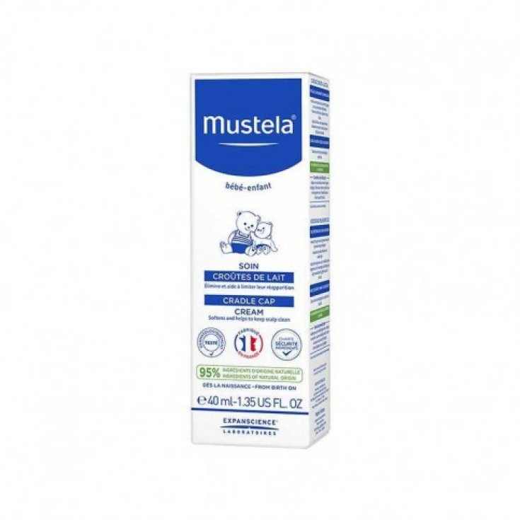 Milky Crust Treatment Mustela® 40ml