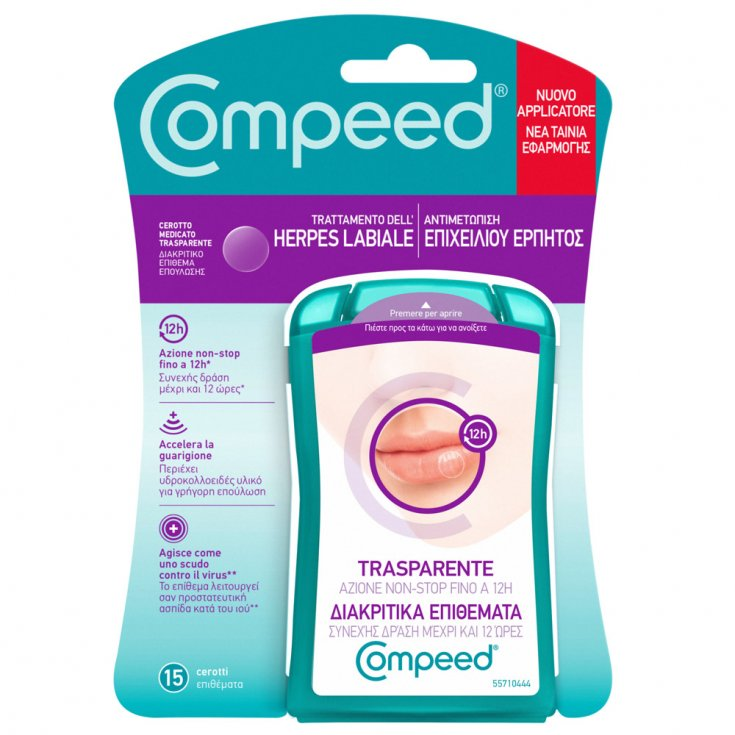 Compeed® Herpes Labial Treatment 15 Patches
