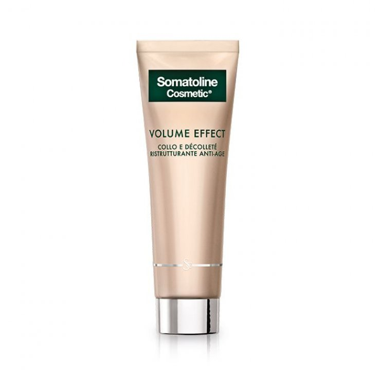 Volume Effect Neck Décollete Restructuring Antiage Somatoline Cosmetic® 50ml
