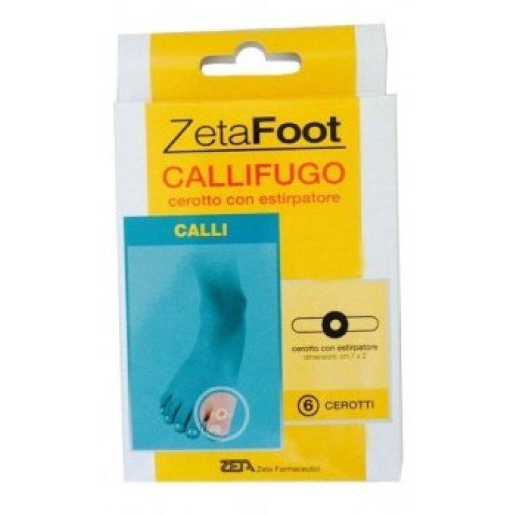 ZetaFoot Callifugo Zeta Farmaceutici 6 Patches